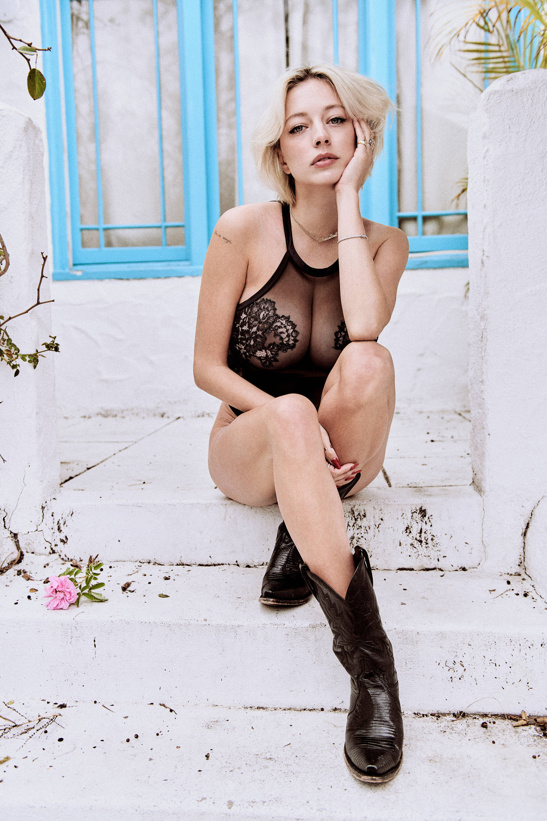 Caroline Vreeland Poses for Playboy