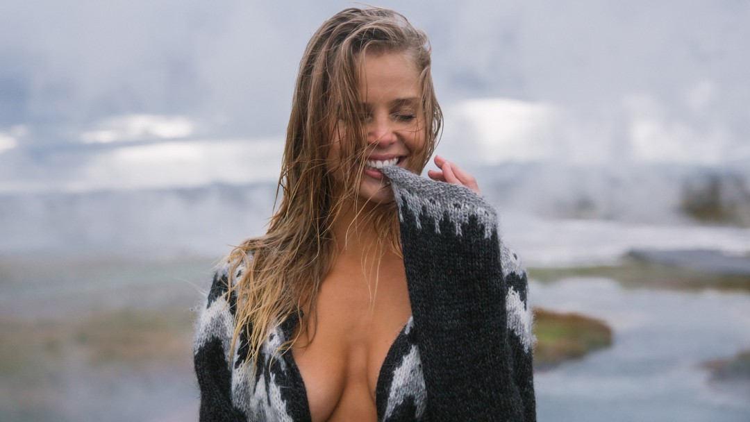 Undressed in Iceland Starring Playmate Allie Leggett