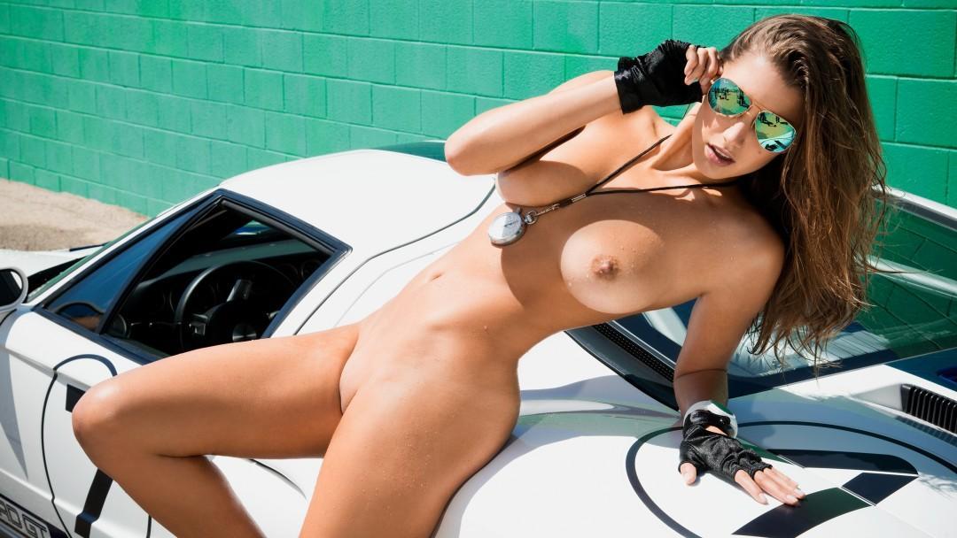 Built for Speed Starring Playmate Alyssa Arce