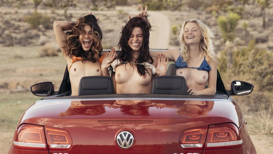 Take a Road Trip to the Playboy Social Club in Palm Springs With Megan, Lorena and Emily