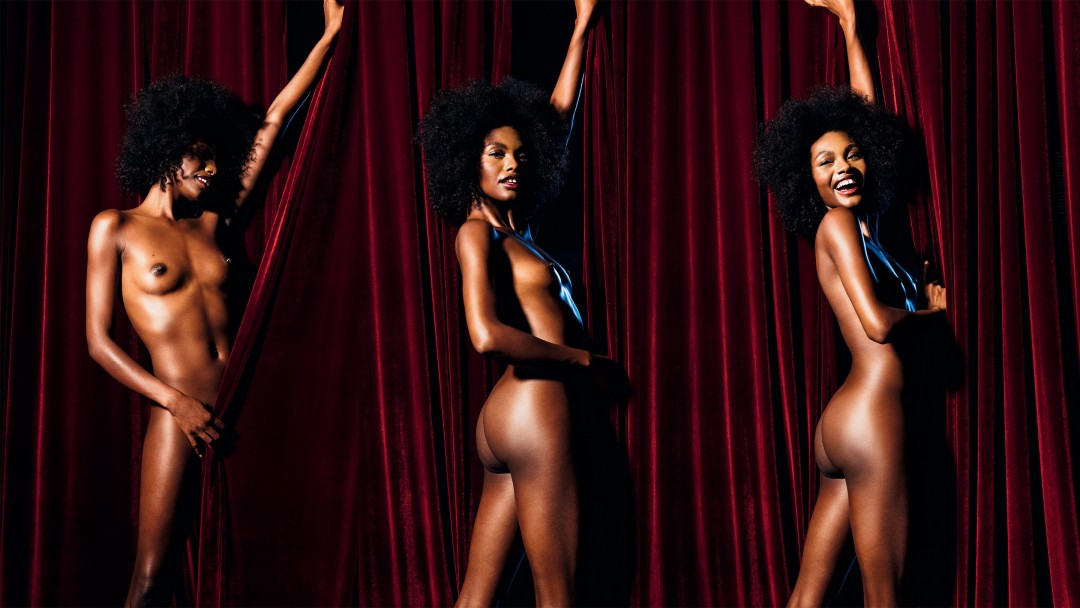 Center Stage With Playmate Milan Dixon