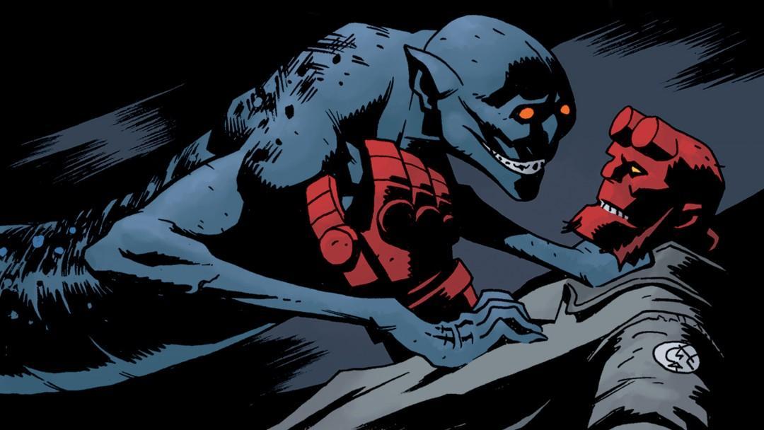 Hellboy: Return of the Lambton Worm, an Exclusive Playboy Comic
