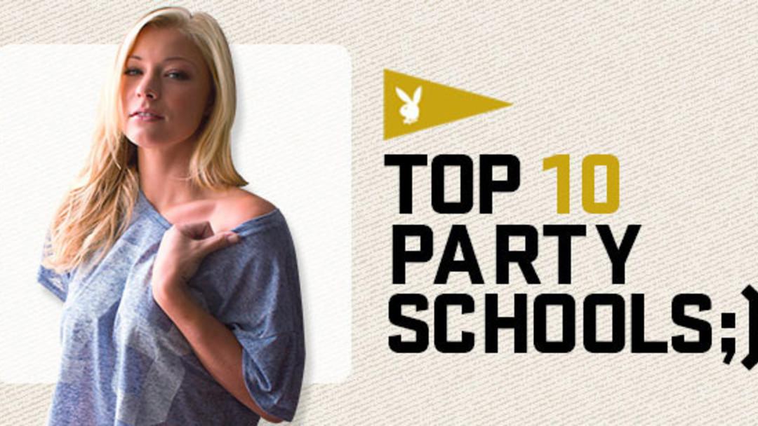 Playboy's Top 10 Party Schools of 2012