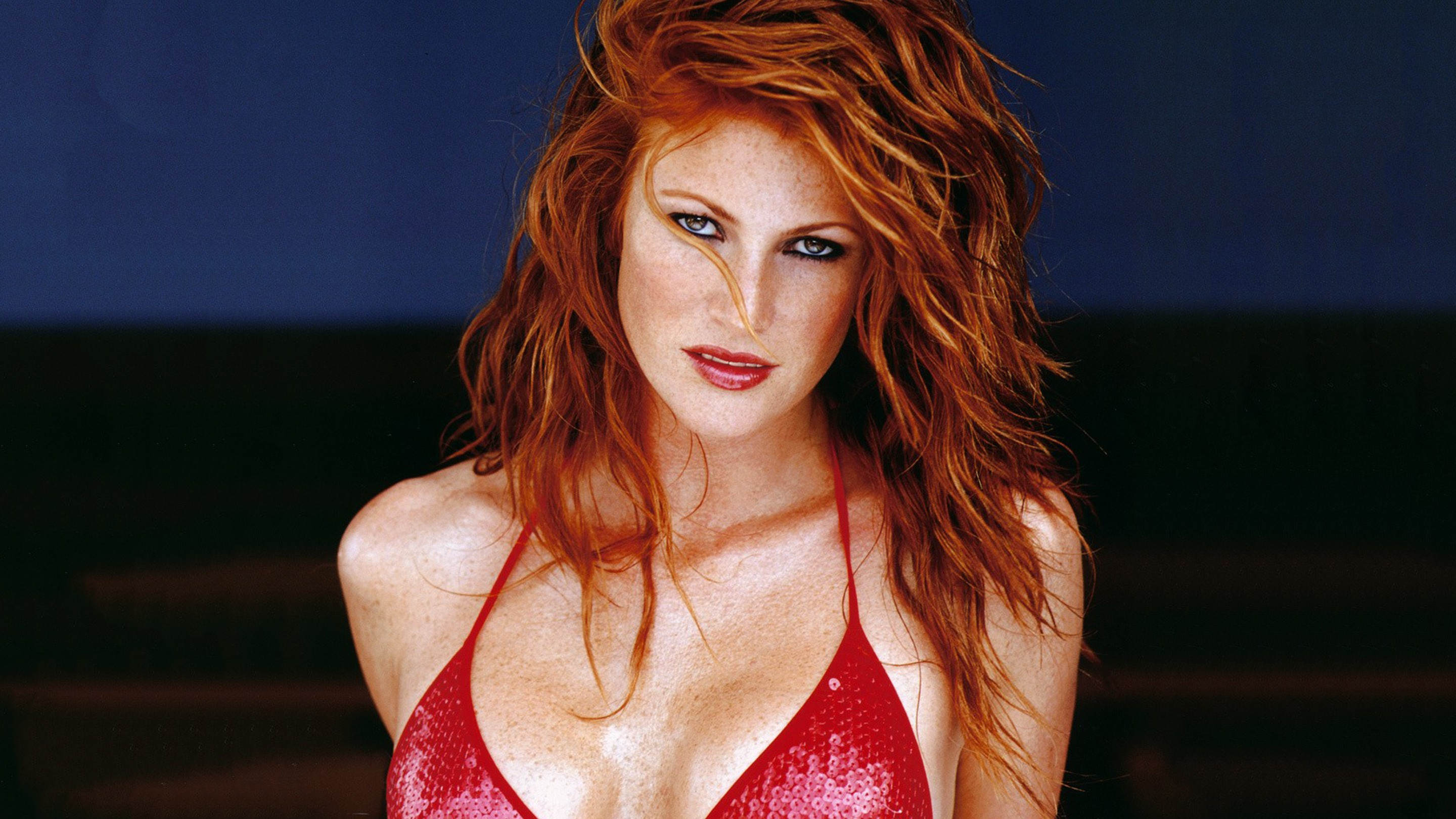 Angie everhart nude remarkable