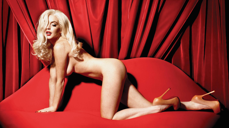 Lindsay lohan naked playboy