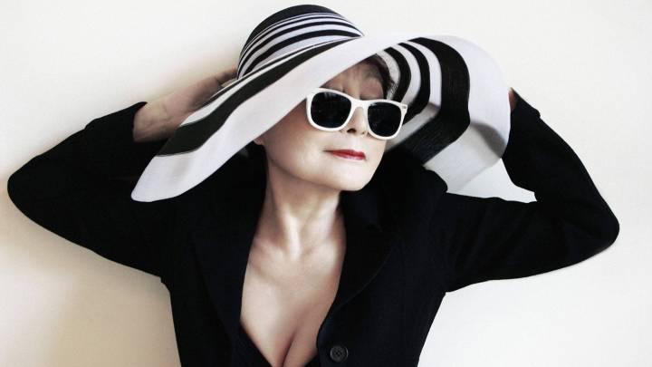Yoko Ono Moves Forward