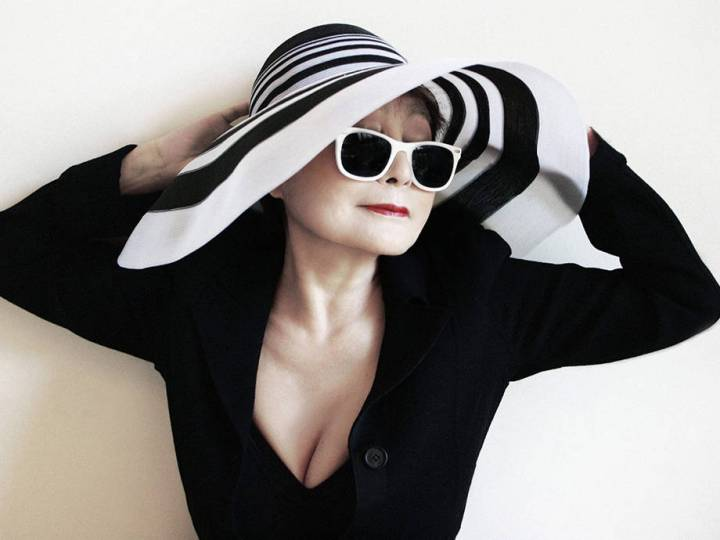 Yoko Ono Moves Forward