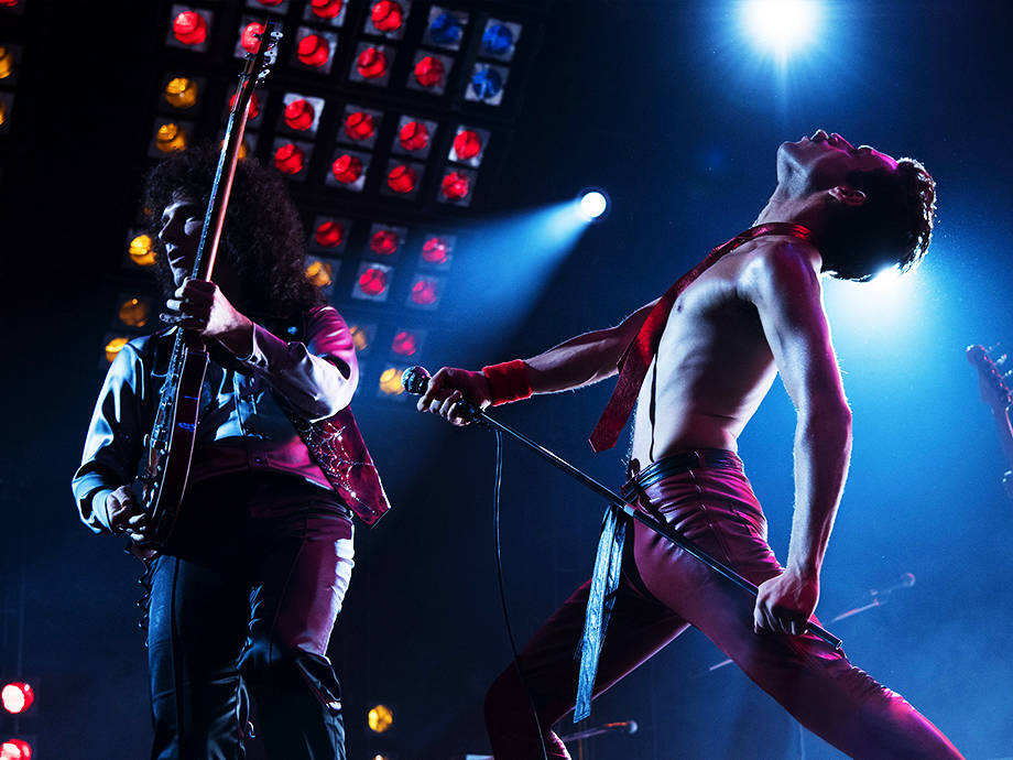Rami Malek Rocks as Freddie Mercury in 'Bohemian Rhapsody'