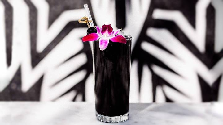 Keep It Spooky and Boozy With Charcoal-Infused Cocktails