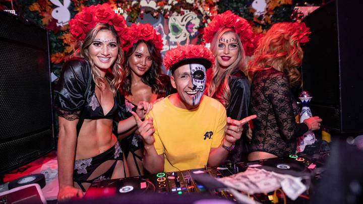 Playboy's Día de los Muertos at TAO Las Vegas: Scenes from the Spectacle
