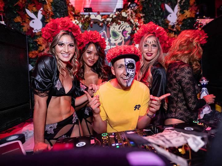 Playboy's 2018 Día de los Muertos at TAO Las Vegas