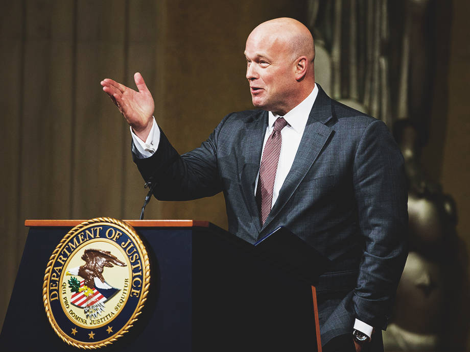 Matthew Whitaker and His Big Dick Toilets Are an Emblem for 2018