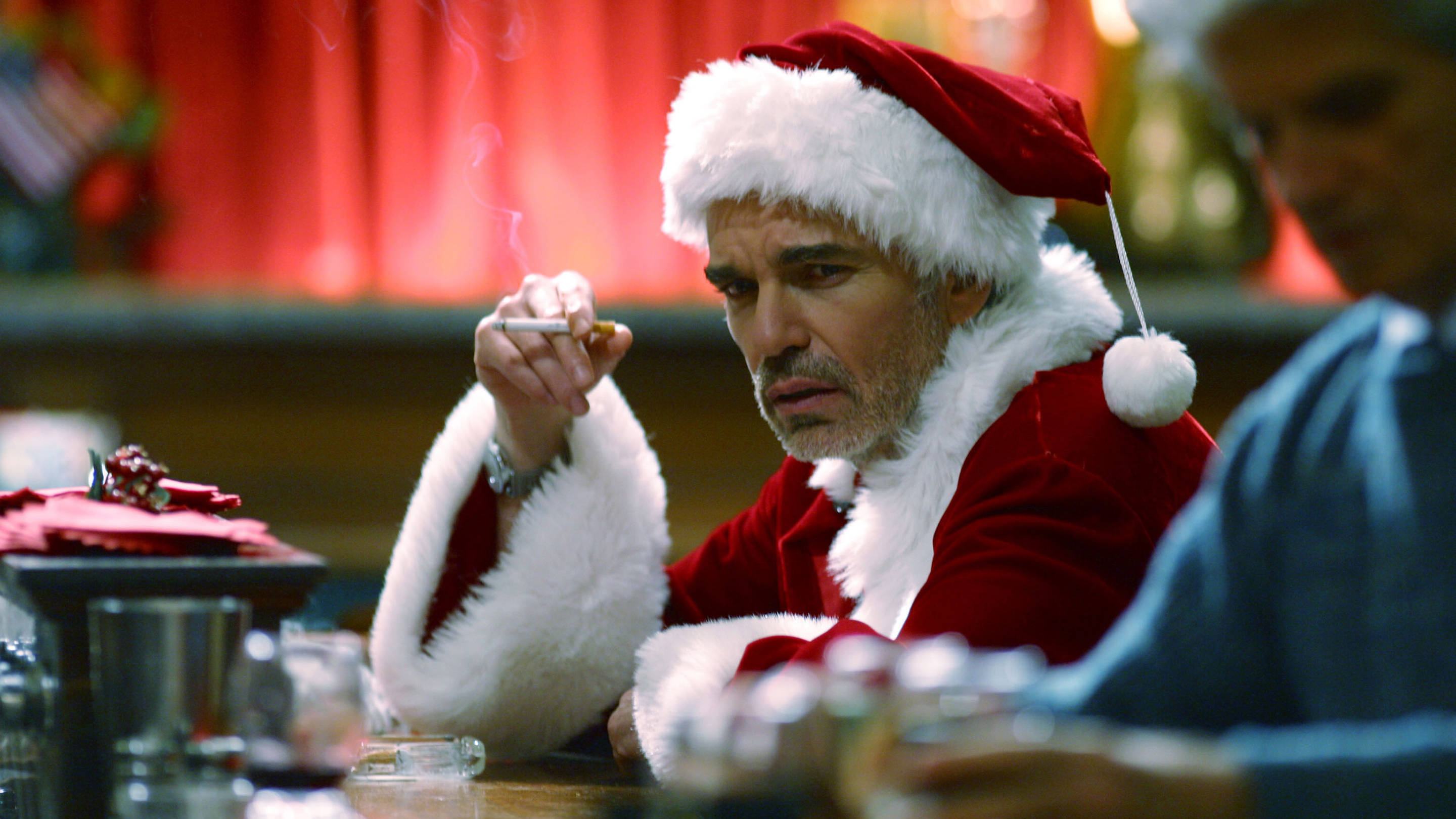 Billy Bob Thornton in 'Bad Santa,' 15 years later