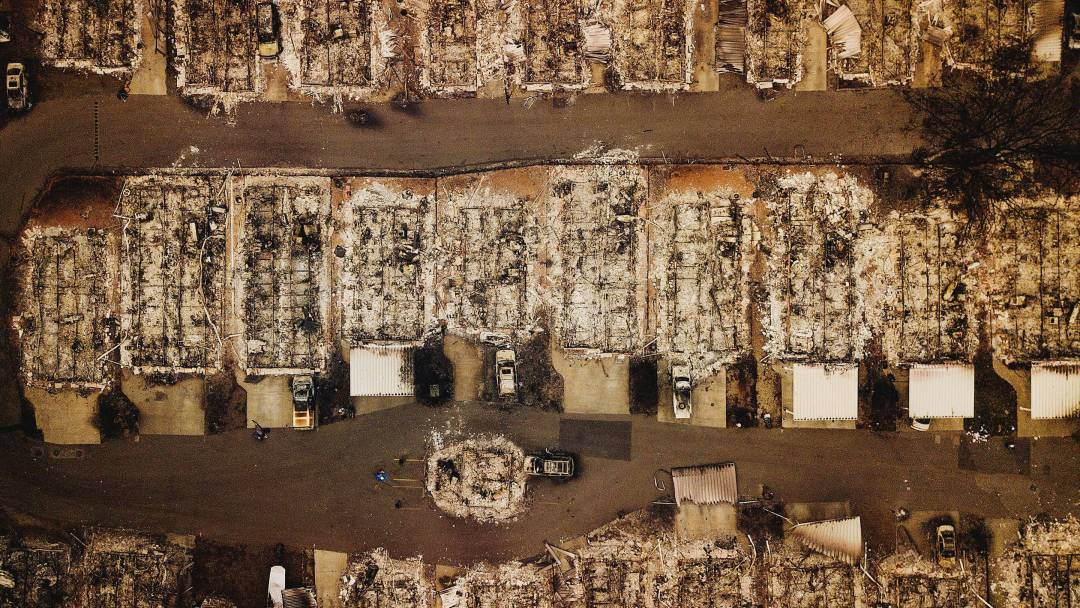 Smoke Signals: In the Aftermath of the California Fires, a New Battle Arises