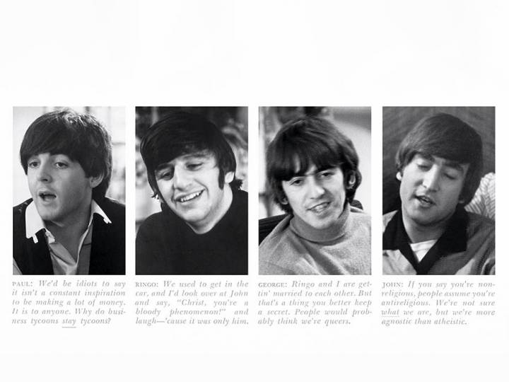 When the Funnyman Met the Fab Four