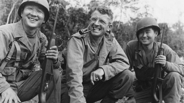 Japanese American troops World War II