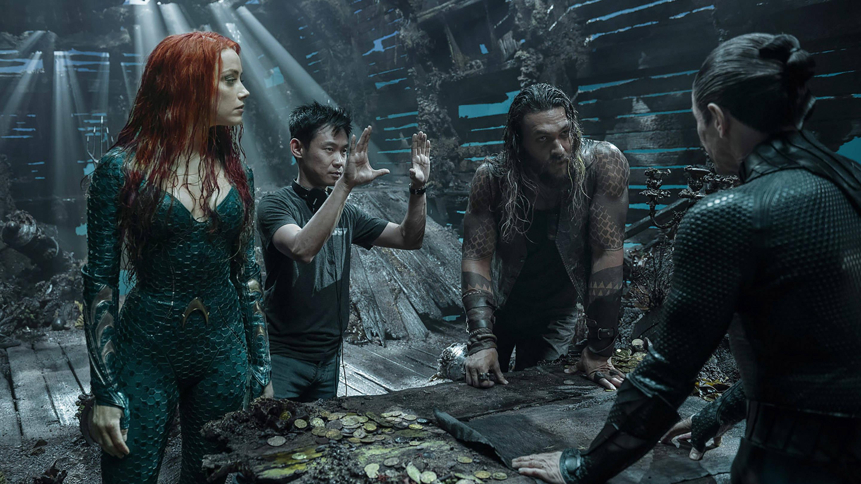 James Wan and Aquaman