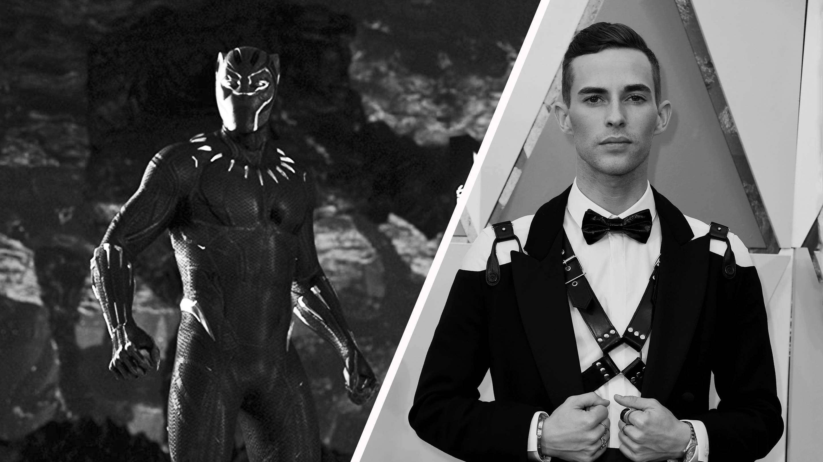 Black Panther and Olympics hero Adam Rippon