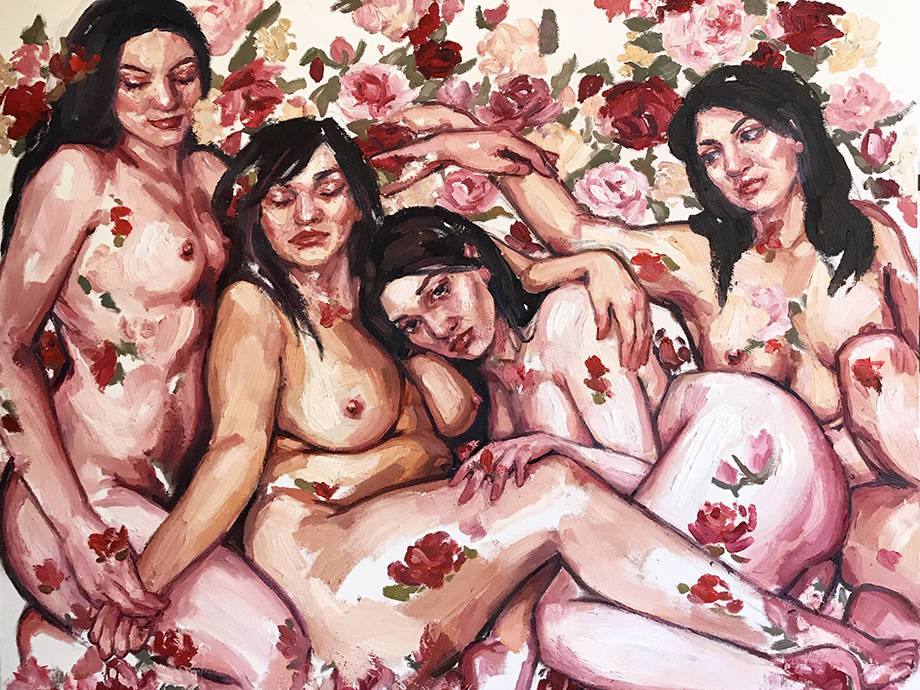 Artist Elly Smallwood Lets Curves Lead