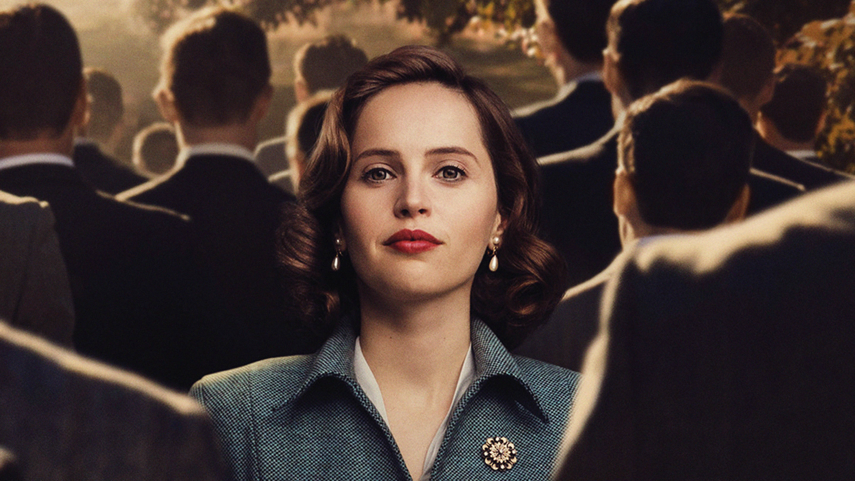 Felicity Jones as Ruth Bader Ginsburg in 'On the Basis of Sex'