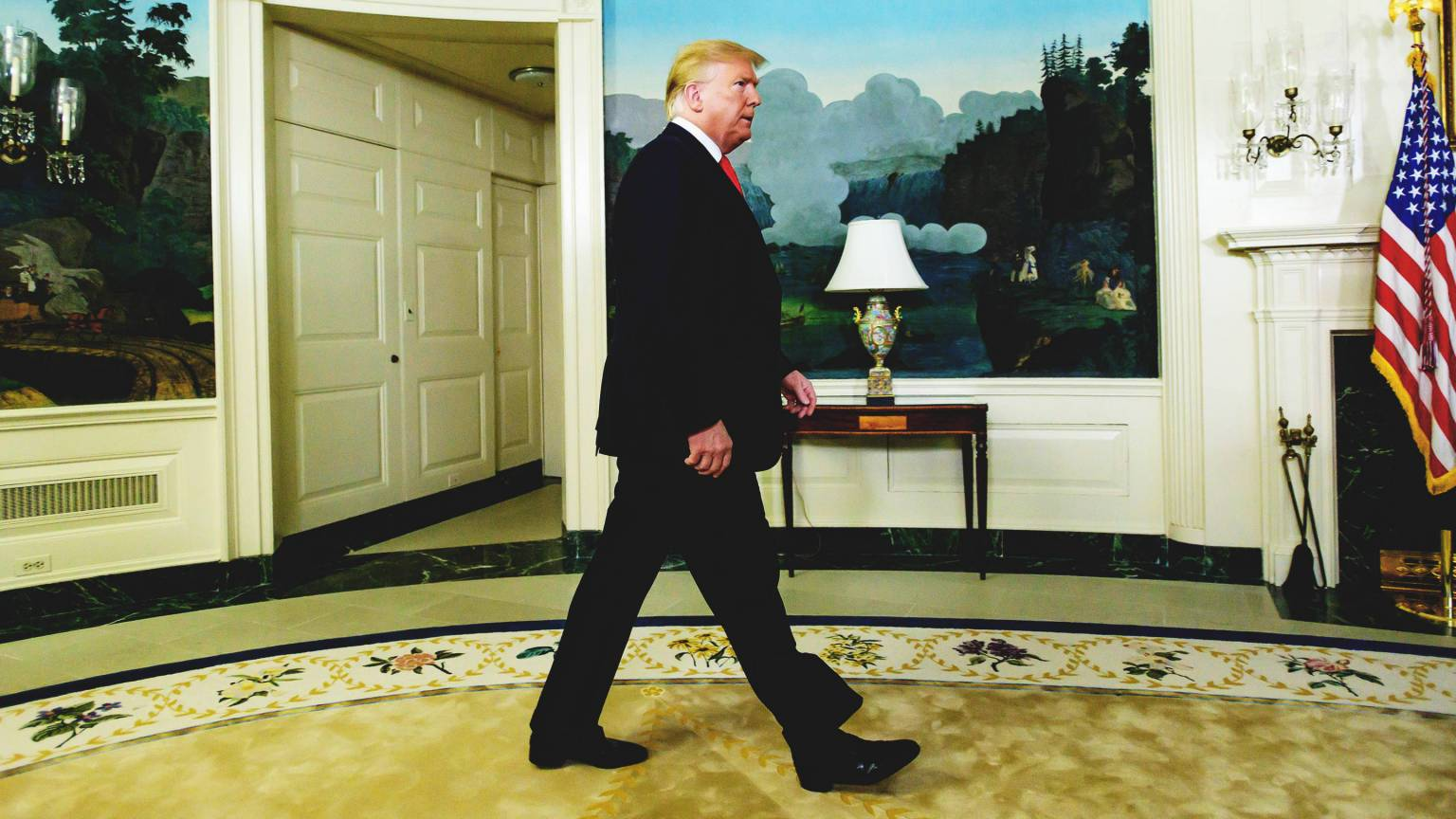 A Quite Place: Trump's Confidence At Odds With His Administration