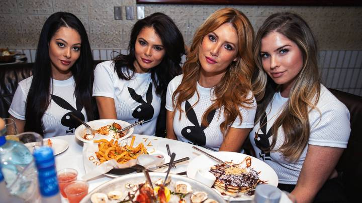 Playboy's Bunny Bowl Takes Over LAVO Las Vegas