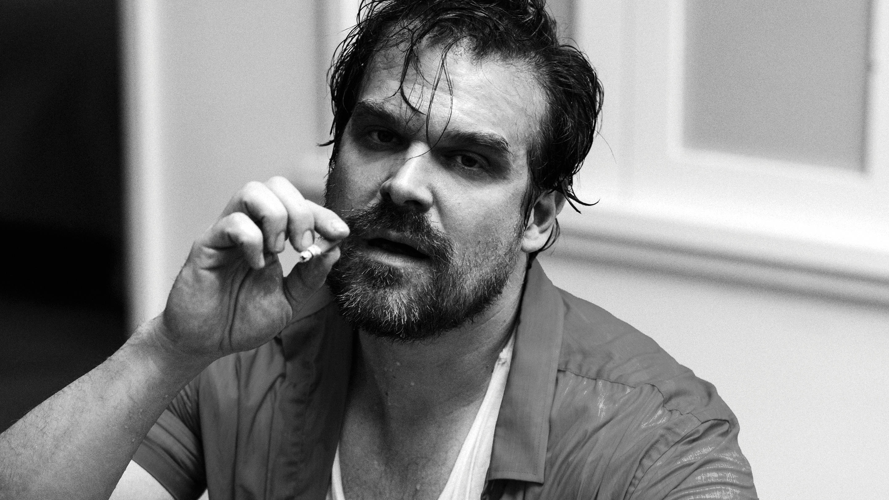 David Harbour for Playboy