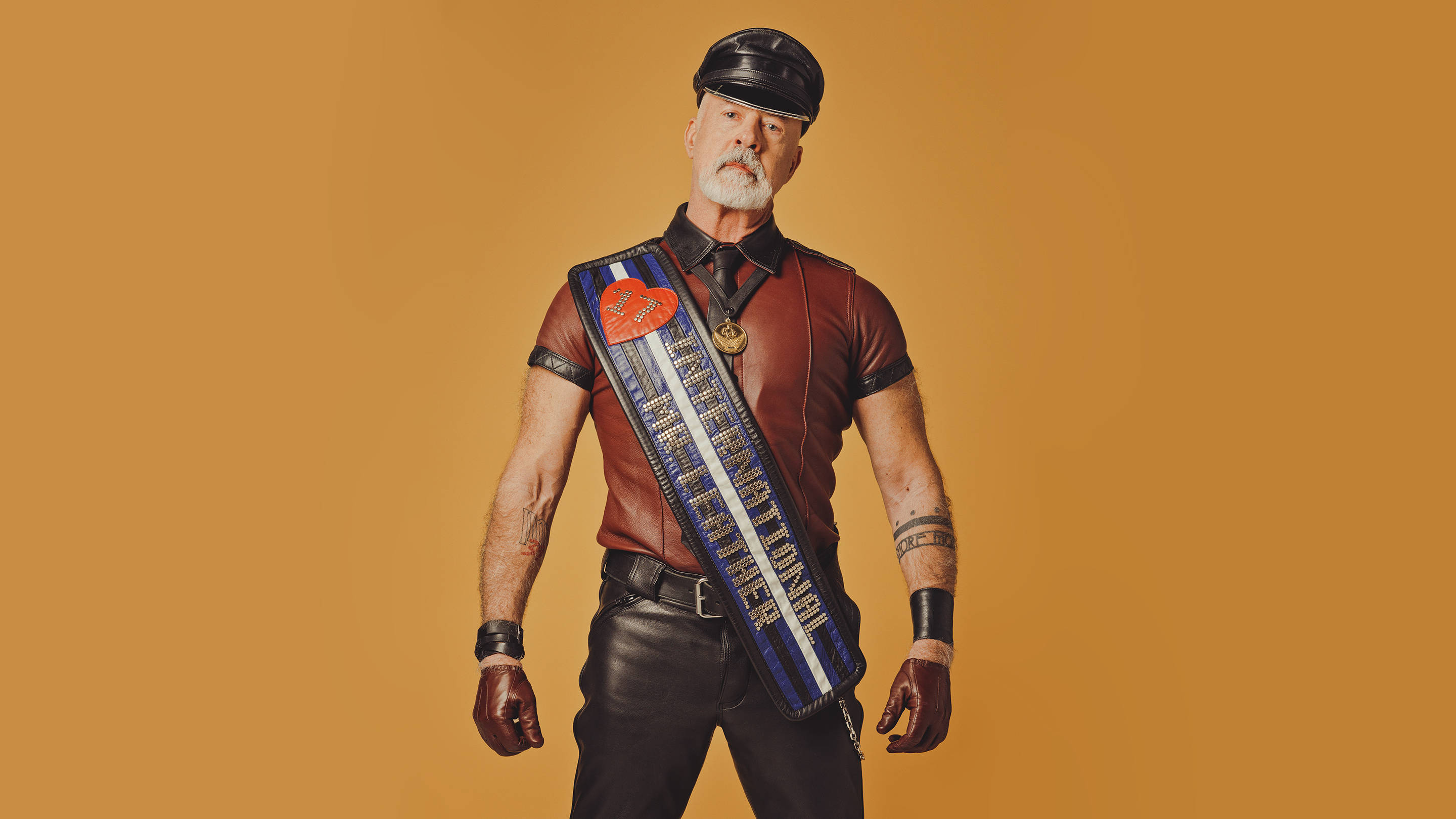 Dr. Ralph Bruneau, the Mr. IML 2017 title-holder, shot for Playboy.