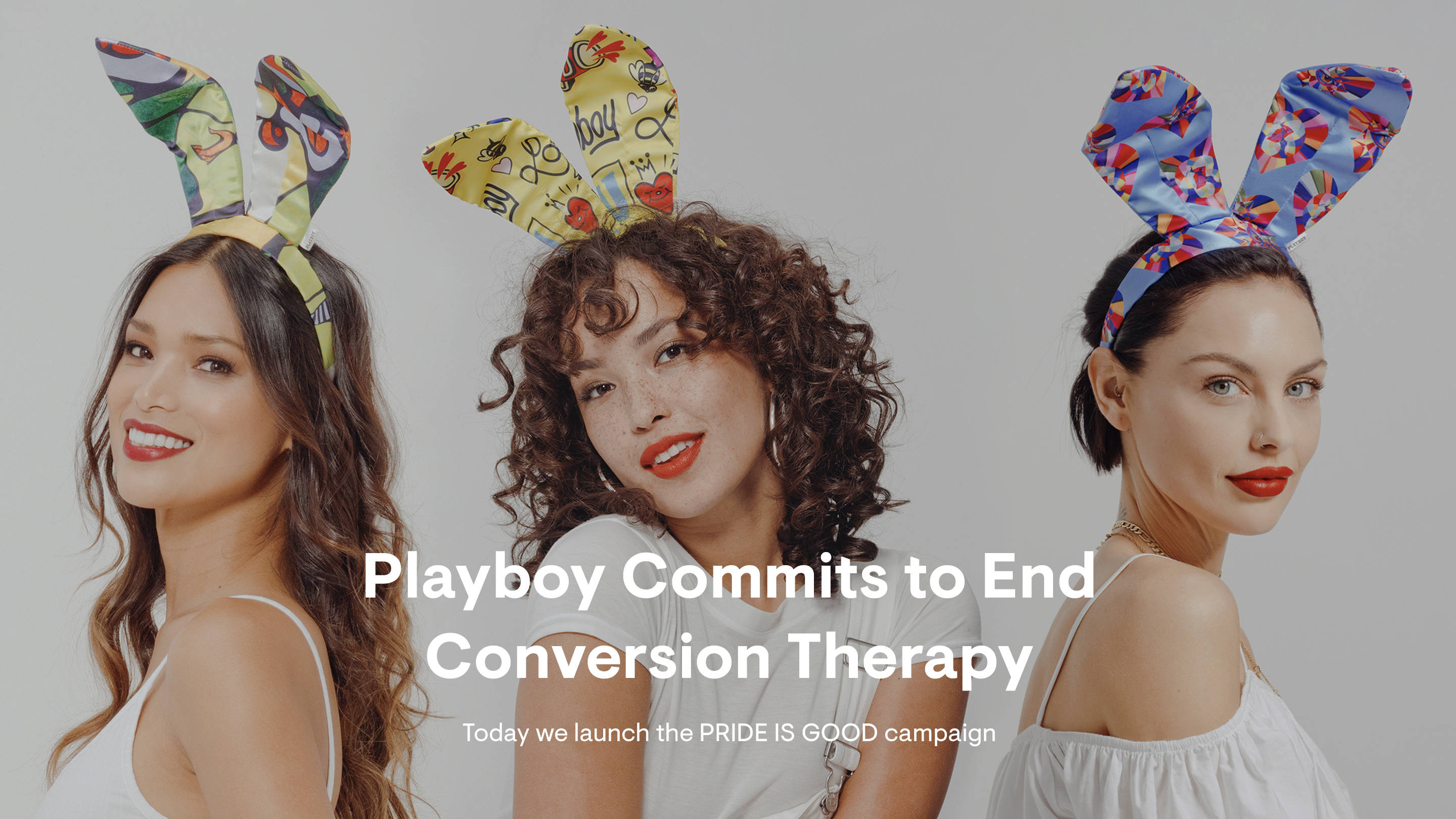 Playboy launches PRIDE IS GOOD campaign