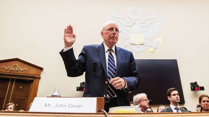 On John Dean and the Repeating of History