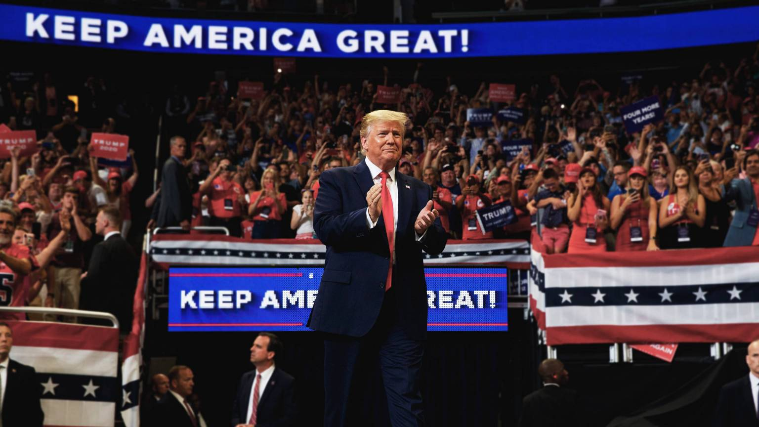 Keep America Great! Trump's Reelection Campaign Kicks Off