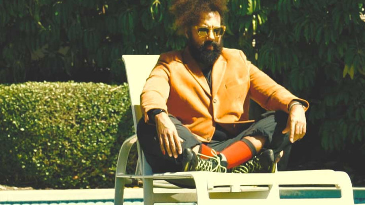 Reggie Watts Talks VR, Dances Hypnotically at his Playboy Shoot