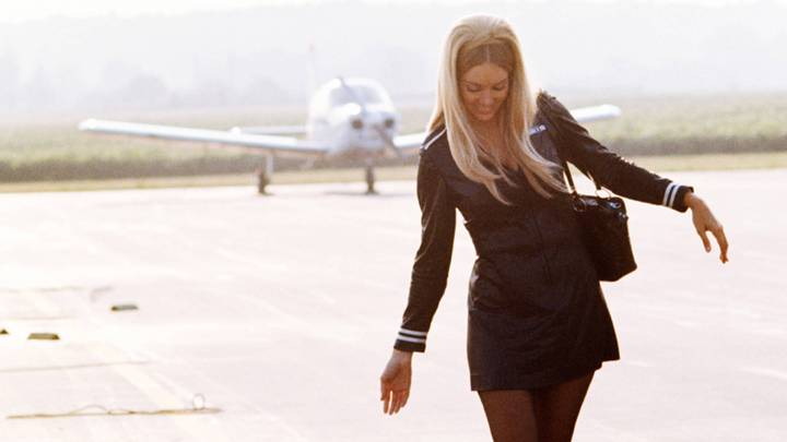 Flying Mile-High With November 1970 Playmate and Jet Bunny Avis Miller