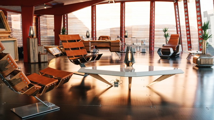 Space-Age Midcentury Modern Furniture Design? Yes, Please
