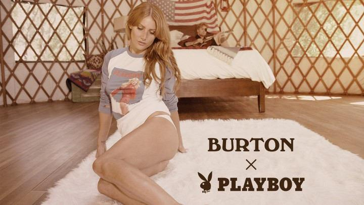 See Burton and Playboy's Limited Edition 2017 Winter Collection Here First