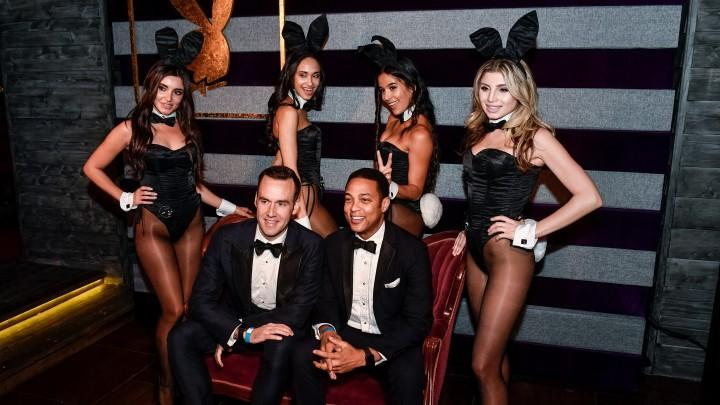 Step Inside Playboy's First-ever No Tie Party Following the 2018 White House Correspondents' Dinner