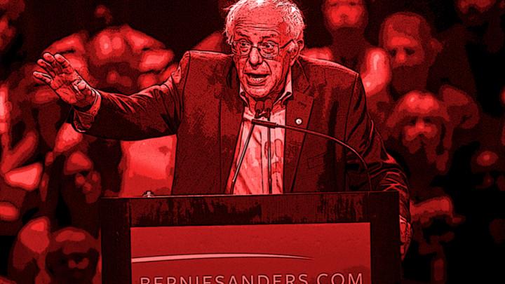 Comedian Eddie Pepitone Rewrites Bernie Sanders' Stump Speech