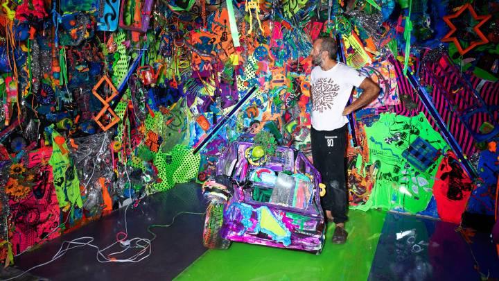 Kenny Scharf's Neon Fantasies