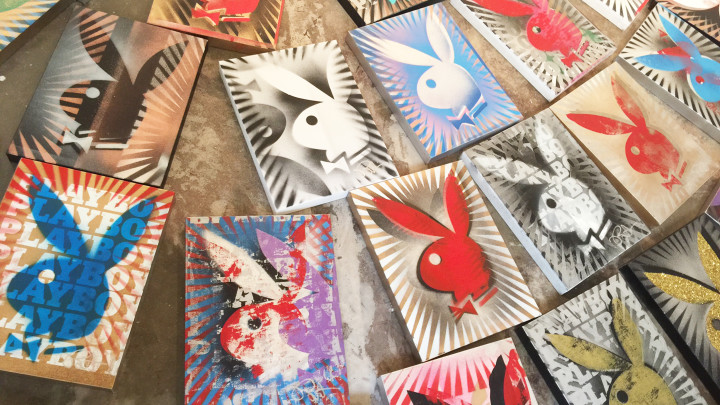 Step Inside 'Painting Playboy' by Pop Artist Icon Burton Morris