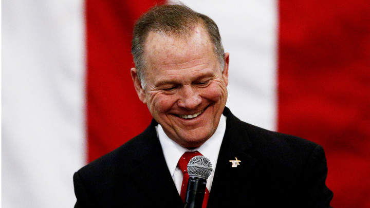 What Roy Moore's Narrow Loss Says About Evangelical Christianity