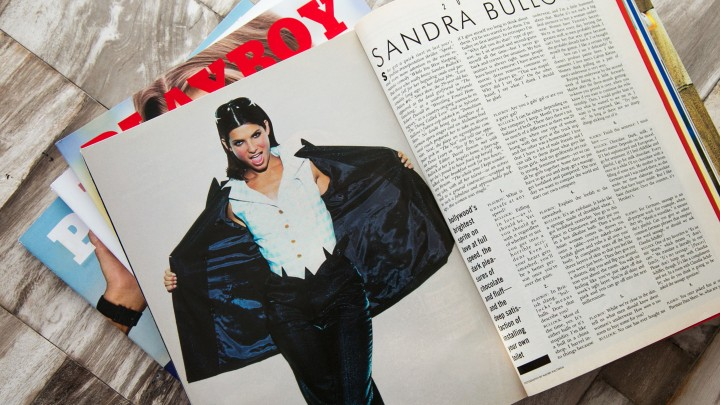 Sandra Bullock's 1995 20Q With Playboy Was All About Men, Lingerie and Making It Big