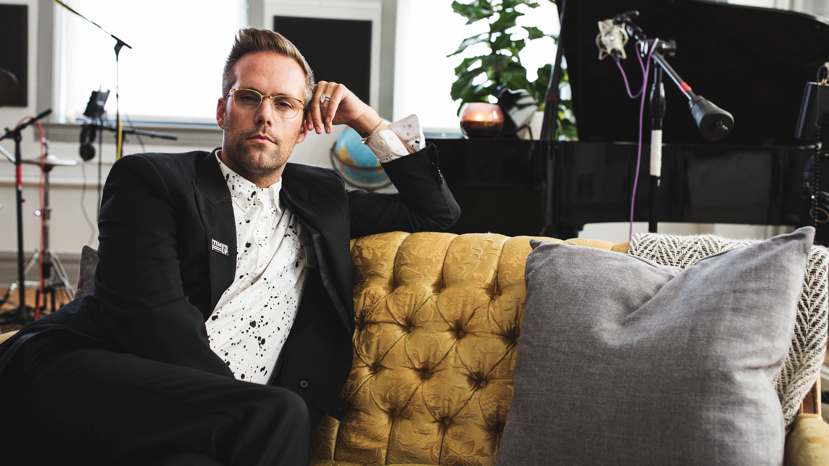 Justin Tranter Chicago Academy of the Arts by Playboy