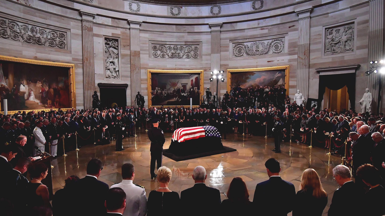John McCain memorial Washington, D.C. August 31, 2018