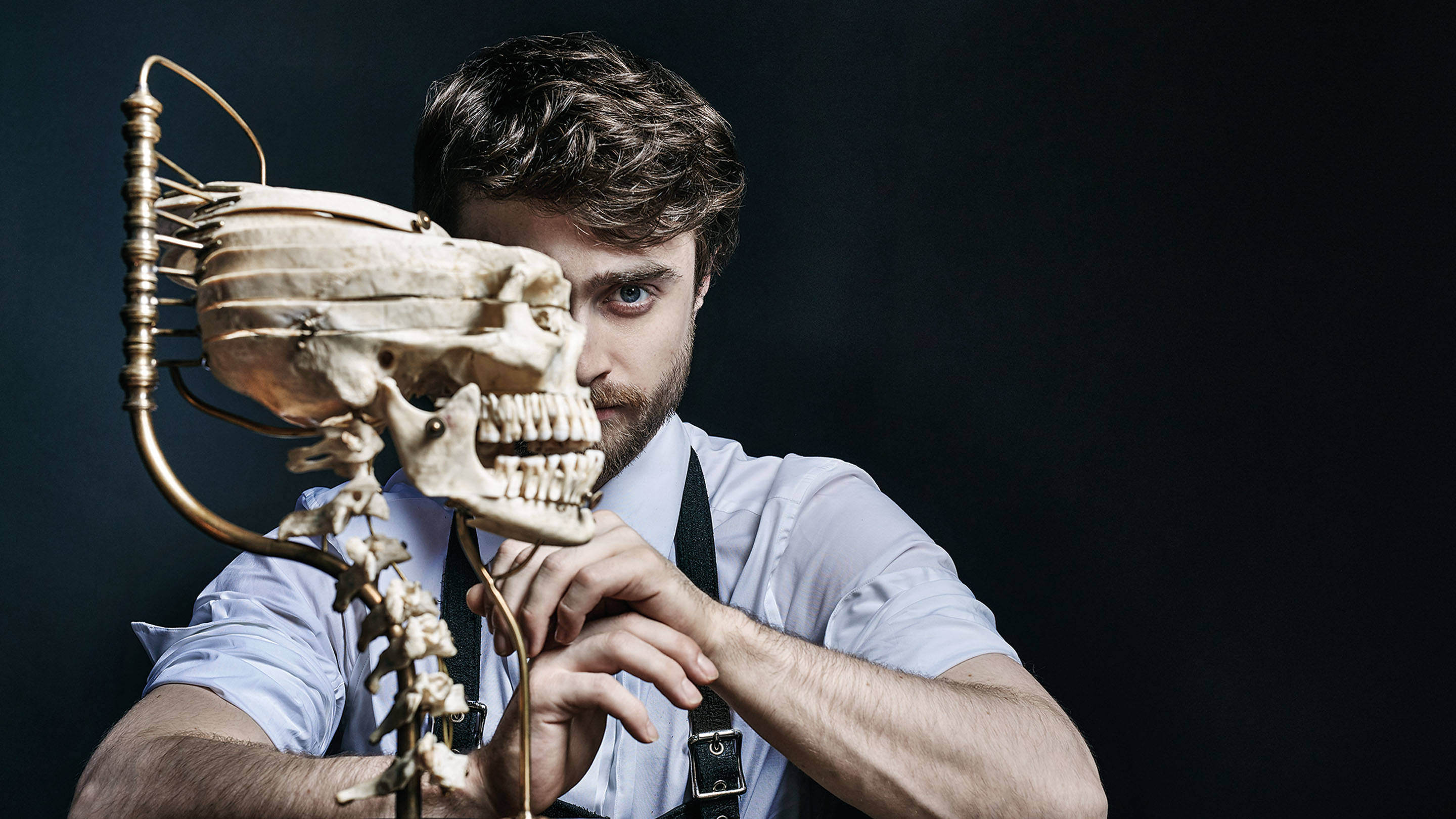 Victor Frankenstein's Daniel Radcliffe for Playboy's 20Q by Gavin Bond