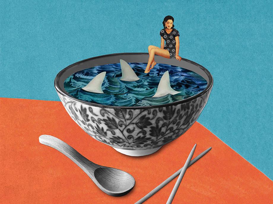 Playboy Fiction: Shark Fin Dinnner Party