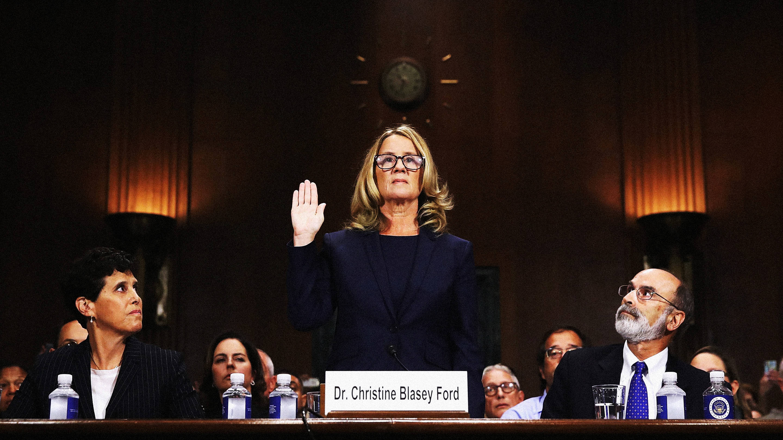 Christine Blasey Ford testifies / Playboy