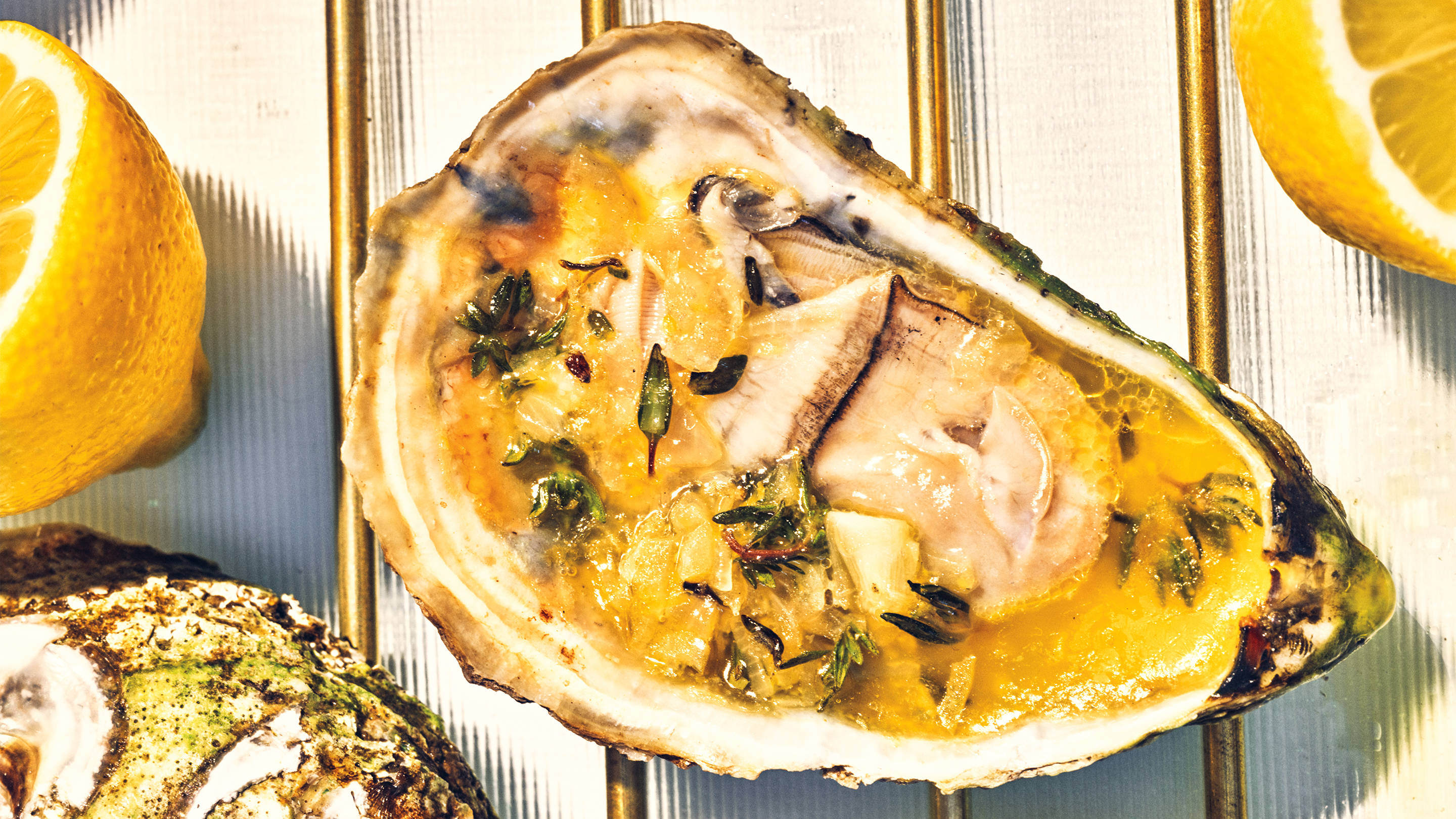 How to Grill Oysters Photo by Grant Cornett